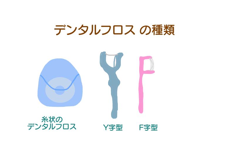 デンタルフロスの種類.png